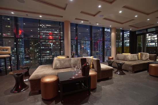 Times Square Lounge at Sky Room NYC Rooftop Party