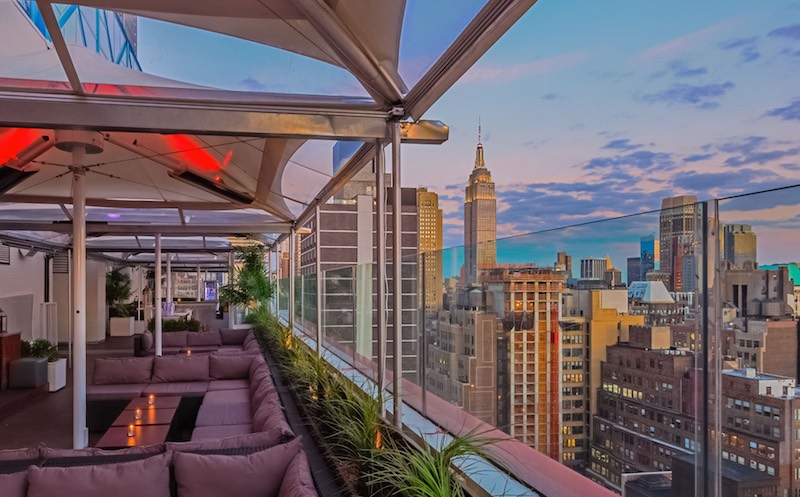 Nyc happy hour best happy hour drink specials for Terrace new year party