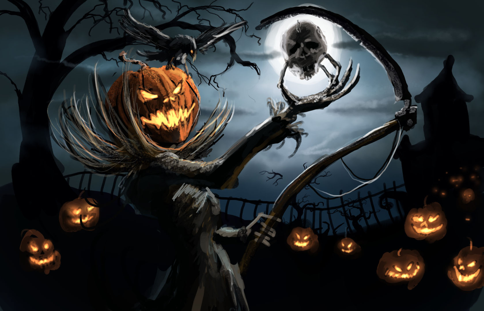 Halloween in NYC guide highlighting the spookiest fall events in town