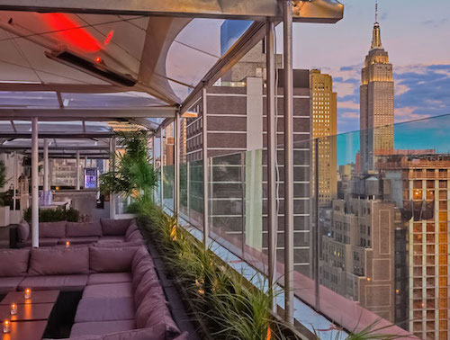 Empire State Building Rooftop Views At Sky Room Nyc