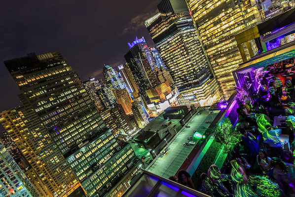 New York City Rooftop Lounge The North Terrace Sky Room